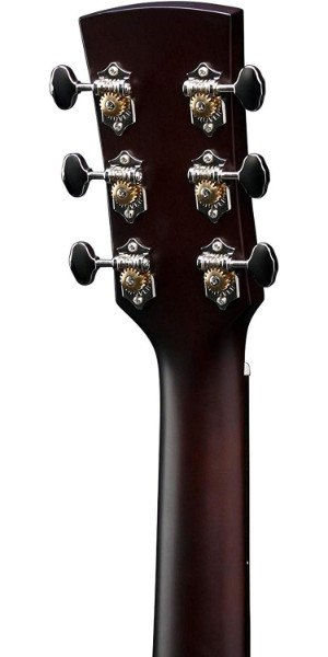 Ibanez Artboard AW4000 closeup of headstock