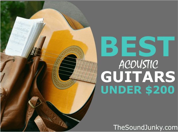 List of Acoustic Guitars Below 200