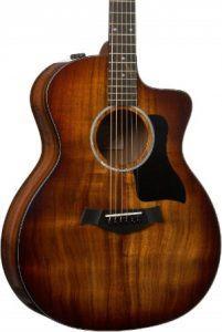 Taylor 224ce Deluxe Koa Acoustic Guitar