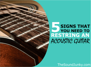 when to restring an acoustic guitar