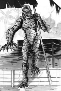 Black Lagoon Creature