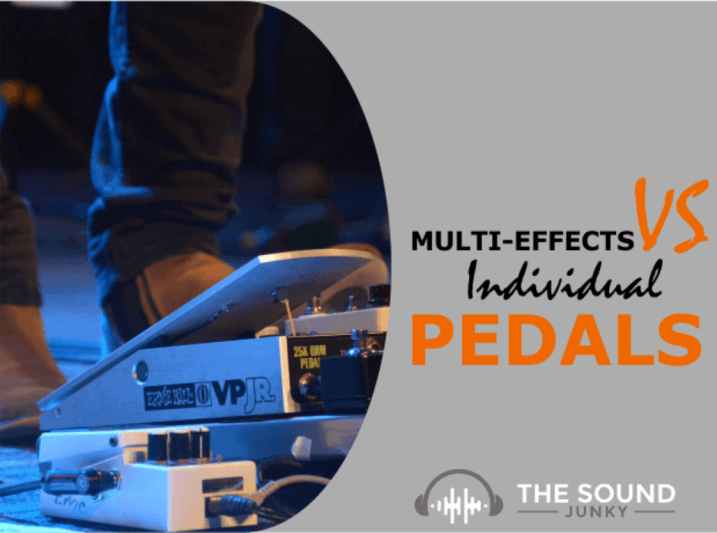 Pros and Cons of Multi Effects Pedals Versus Single Analogue Stomp Box Pedals