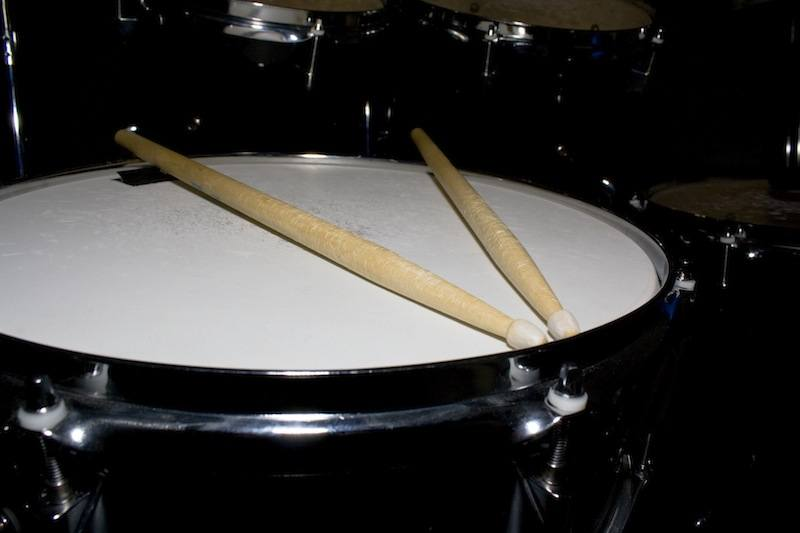 Snare Drum with Sticks