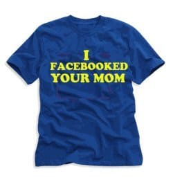 facebooked-mom shirt