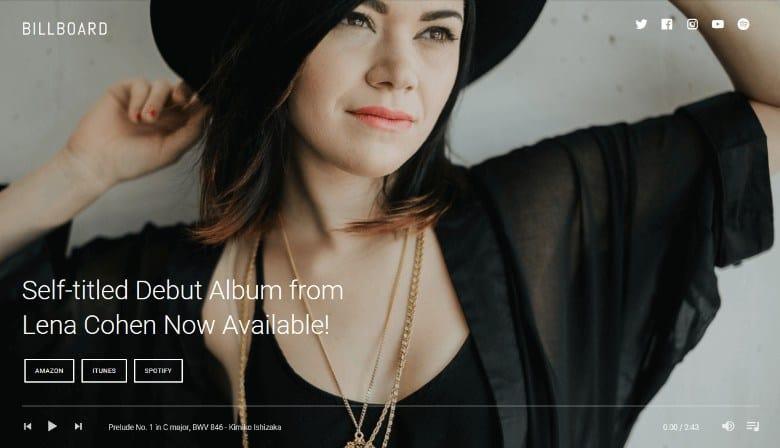 Billboard_Theme_Demo