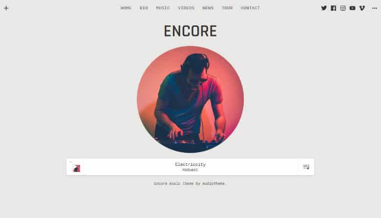 Encore_Theme_Demo