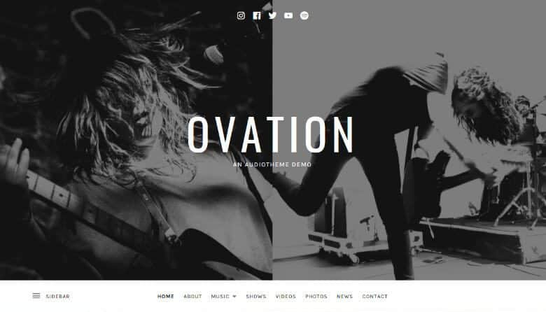 Ovation_Theme_Demo