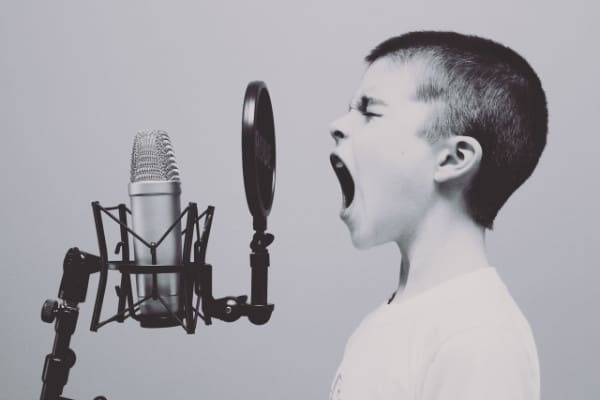 music-black-and-white-white-boy-singing
