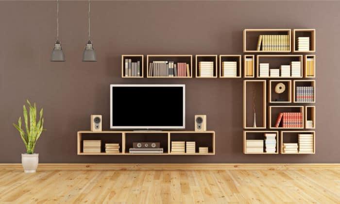 Small Room Featuring Bookshelf Speakers