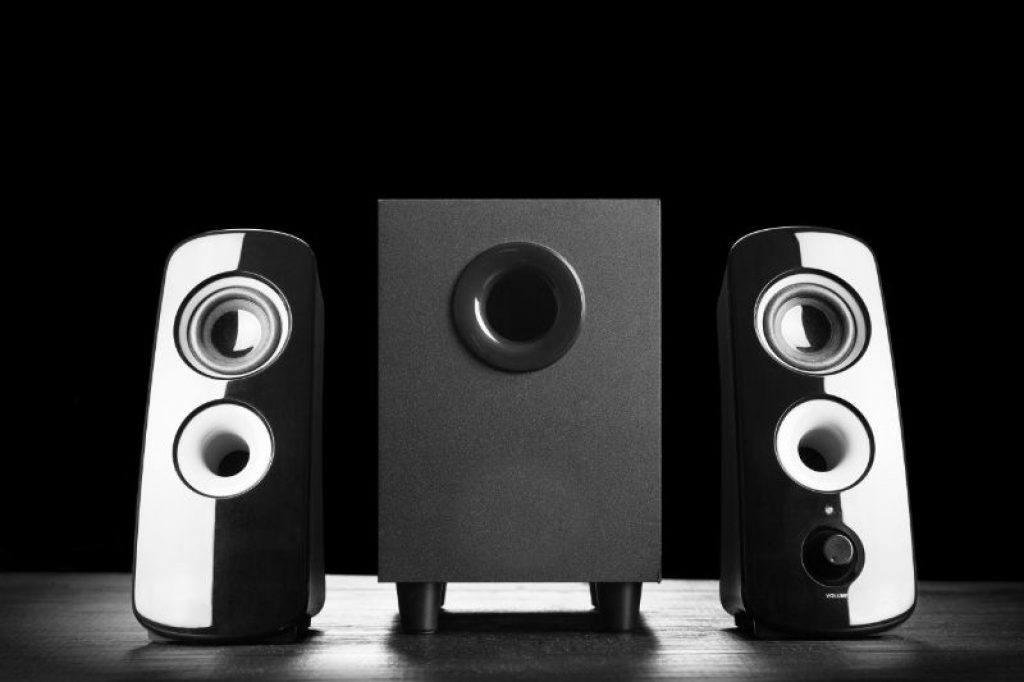 2.1 computer speaker setup