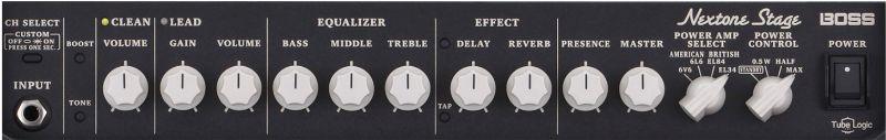 Boss Nextone Stage Amp Controls