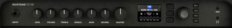 Fender Mustang GT100 Controls