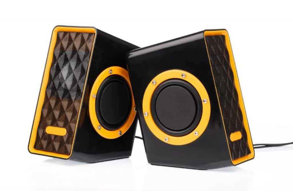 A pair of top quality gaming speakers