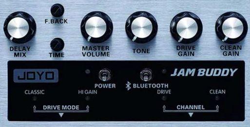 JOYO Jam Buddy Amp Controls
