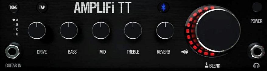 Line 6 AMPLIFi TT Amp Controls
