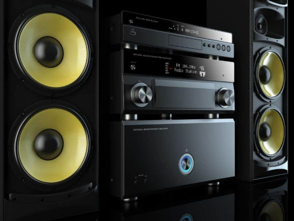 Nice Home Stereo System
