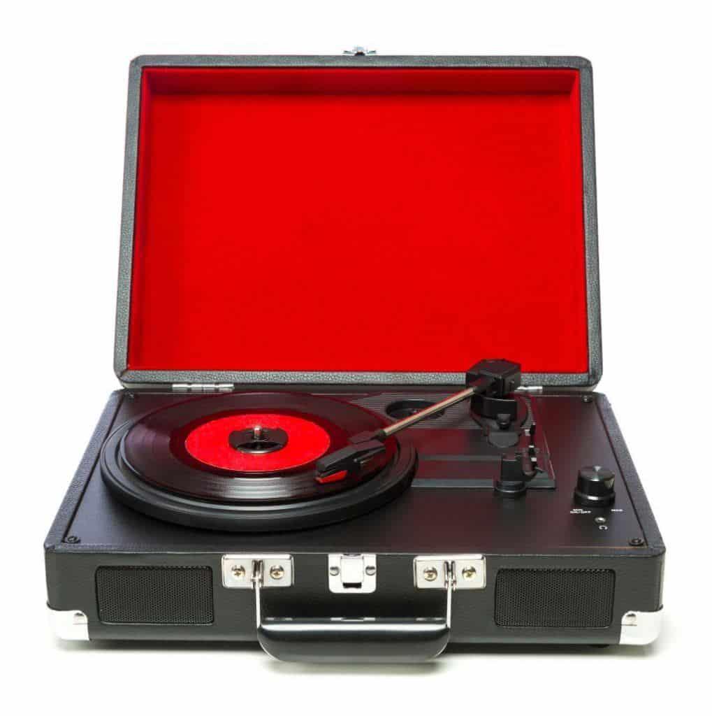 Nice bluetooth record player