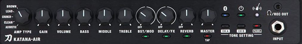 Boss Katana Air Amp Controls