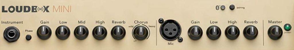 Fishman Loudbox Mini Guitar Amp Controls