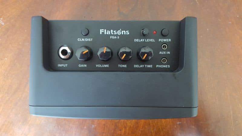 Flatsons FGA 3 Mini Amp Controls