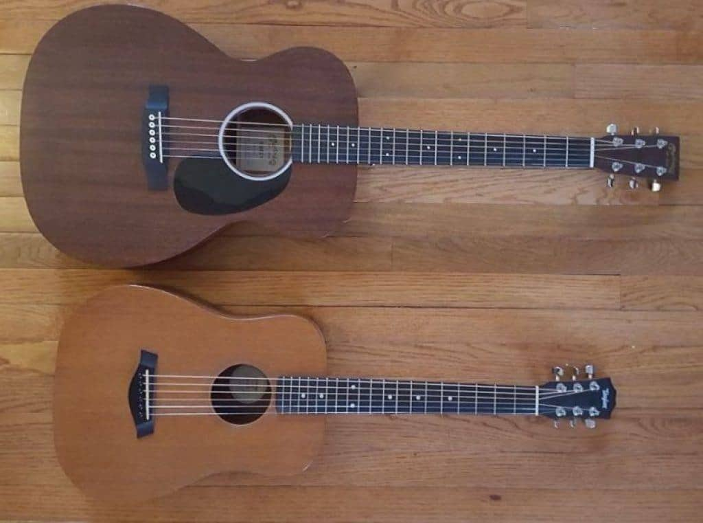 Guitar Size Comparisons
