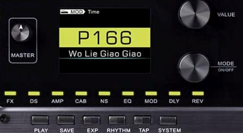 Mooer GE150 Controls