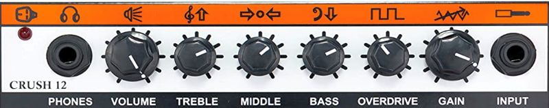 Orange Crush 12 Controls