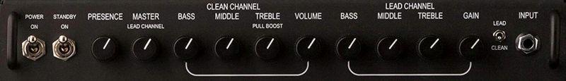 PRS MT15 Head Amp Controls