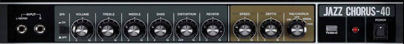 Roland JC-40 Controls