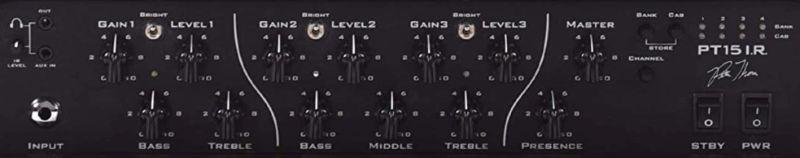 Suhr PT15 IR Amp Controls