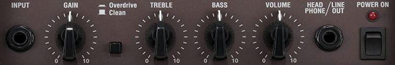 Vox Pathfinder 10 Combo Controls