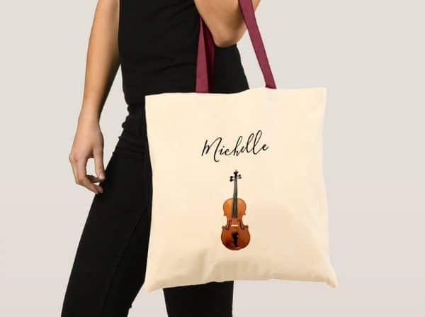 Musical_Monogram_Violin_Classical_Music_Tote_Bag