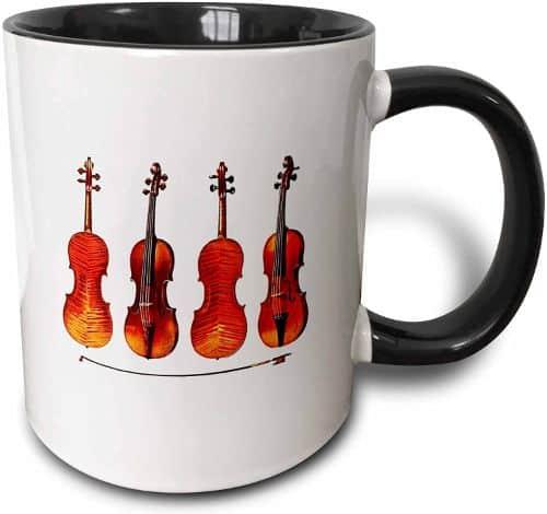 Stradivarious Violins Two-Tone Mug