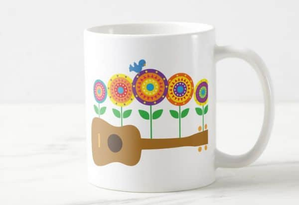 Ukulele_Flowers_Coffee_Mug
