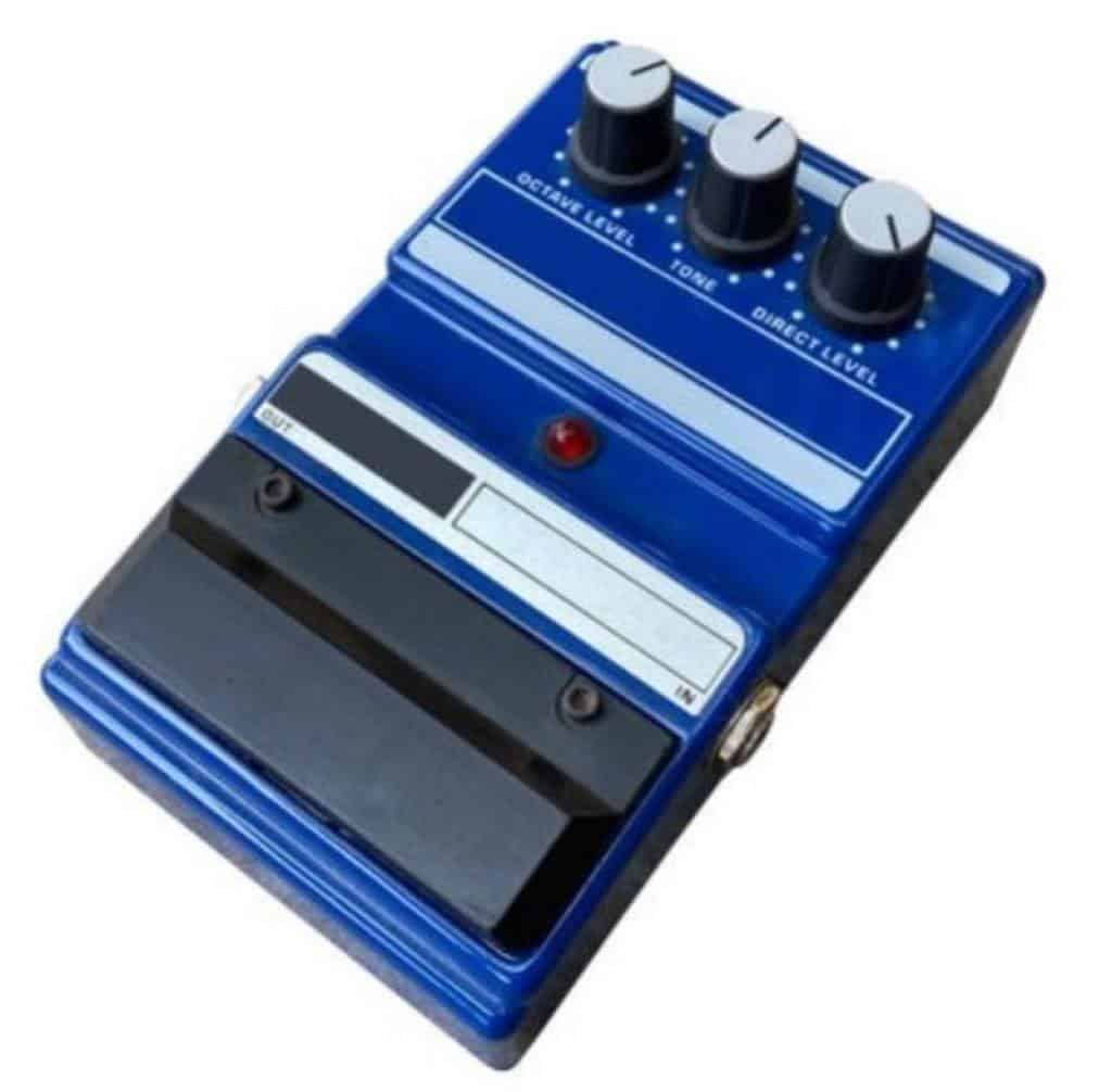 blue octave pedal