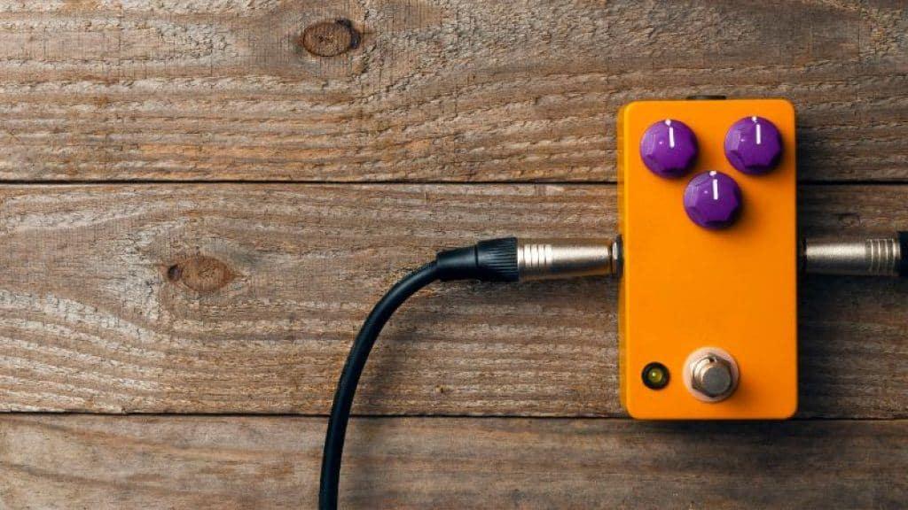 orange overdrive pedal