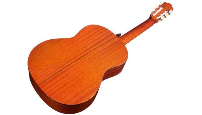 Back of Cordoba C5 Classical Guitar on angle