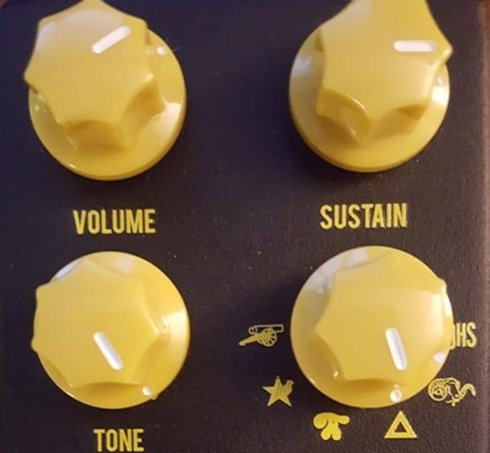 Vintage Mono Synth Triangle Mode on the JHS Muffuletta Fuzz Pedal