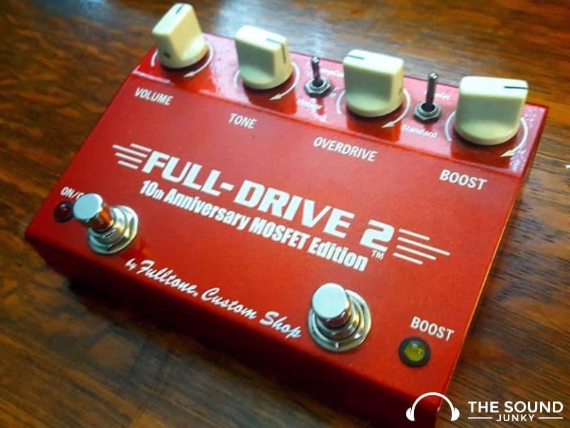 Fulltone Full-Drive 2 Overdrive Pedal