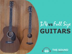 Three Quarter Versus Full Sized Guitars