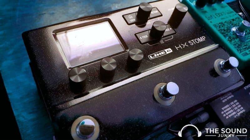 Line 6 HX Stomp Controls