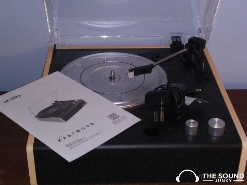 Victrola the eastwood record player with instructions