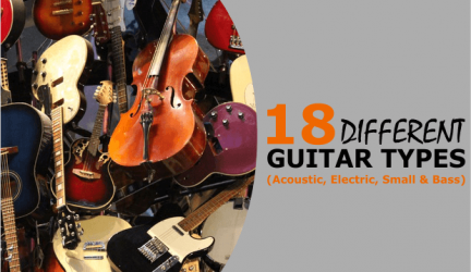 Different Types Of Guitars – Acoustic, Electric, Bass & Small Guitars (Full Guide)