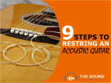 How To Restring An Acoustic Guitar In 9 Easy Steps