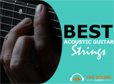 5 Best Acoustic Guitar Strings For Beginners To Pro's (Steel, Heavy & Classical Strings Included)