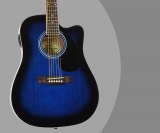 Jameson Guitars Review – Full Size Thinline Acoustic Electric Guitar (w/ Gig Bag)