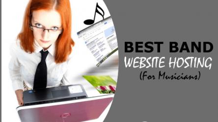 Best Website Hosting For Musicians & Bands In 2019