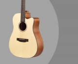 Donner Guitar Review – DAG-1C Acoustic Full-Size 41″ Cutaway Dreadnought Guitar & Beginners Bundle