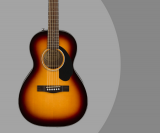 Fender CP-60S Review – Parlor Body Style Acoustic Guitar In Sunburst & Natural Finish