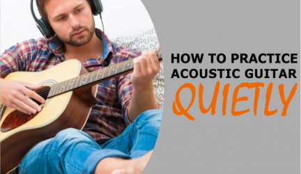 how to play acoustic guitar quietly
